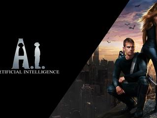 """Conexão CrossOver - A Luta pela Singularidade em """"Divergente"""" e """"A.I. Inteligência Ar"""