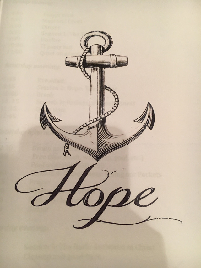 an anchor for my soul