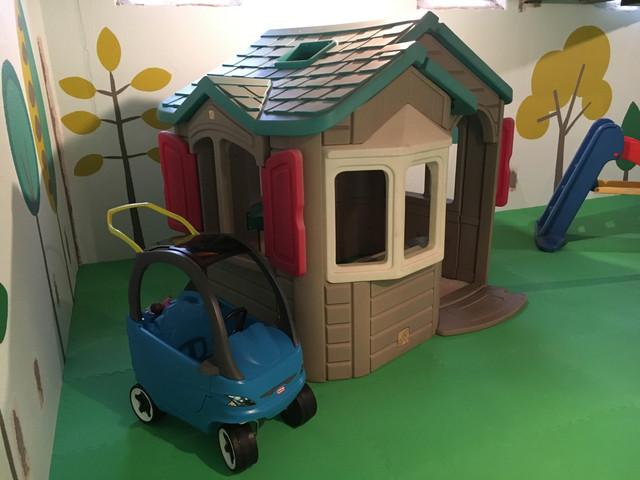 basement makeover: playroom paradise