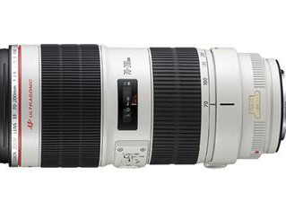 Nouvel objectif : Canon 70/200 mm F2.8