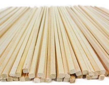 מקלות עץ למכונת סוכר 50 יח בחבילה - לקנייה