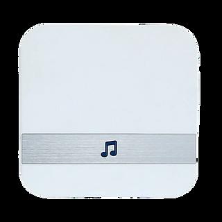 פעמון פנימי לאינטרקום-צבע לבן