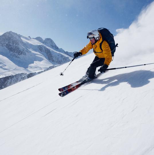 Multi day ski touring