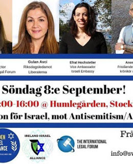 Swedish conference against Antisemitism