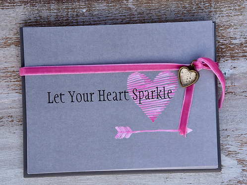 Sparkle On Notecards (Set of 12 cards and envelopes)