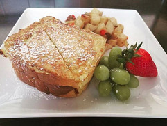 nutella stuffed french toast brunch