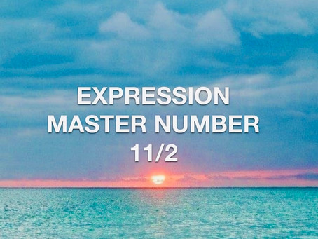 EXPRESSION MASTER NUMBER ELEVEN EGYPTIAN NUMEROLOGY