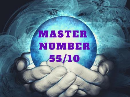 EGYPTIAN NUMEROLOGY;  MASTER NUMBER 55/10