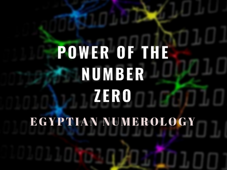 """EGYPTIAN NUMEROLOGY – """"Alpha & Omega: The Great Paradox of Man's Spiritual Tra"""