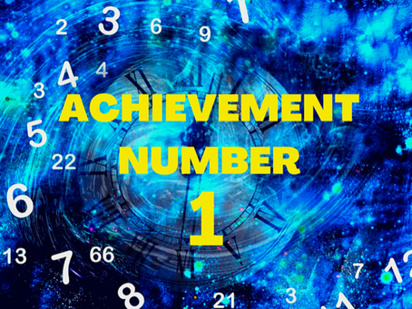 ACHIEVEMENT NUMBER ONE EGYPTIAN NUMEROLOGY