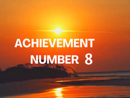ACHIEVEMENT NUMBER EIGHT        EGYPTIAN NUMEROLOGY