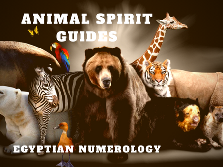 EGYPTIAN NUMEROLOGY; ANIMAL MEDICINE