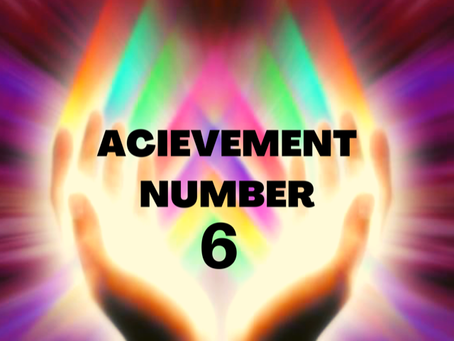 ACHIEVEMENT NUMBER SIX EGYPTIAN NUMEROLOGY