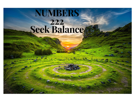 EGYPTIAN NUMEROLOGY Repeating Numbers 222