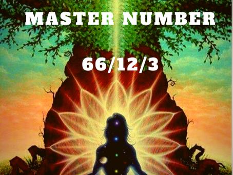 EGYPTIAN NUMEROLOGY     MASTER NUMBER 66/12/3
