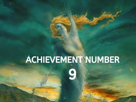 ACHIEVEMENT NUMBER NINE          EGYPTIAN NUMEROLOGY