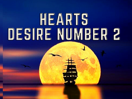 HEART'S DESIRE NUMBER TWO        EGYPTIAN NUMEROLOGY