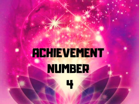ACHIEVEMENT NUMBER FOUR EGYPTIAN NUMEROLOGY