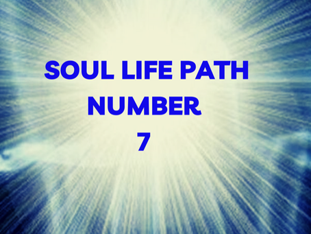 SOUL LIFE PATH NUMBER SEVEN EGYPTIAN NUMEROLOGY