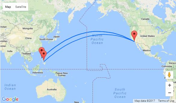 Non-stop direct flights from LAX to Manila & Cebu!