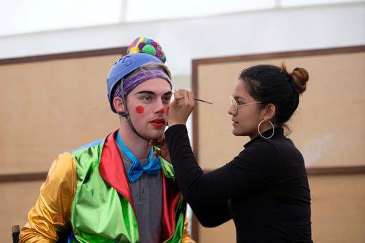 Will clowning around in Bogotá, Colombia!