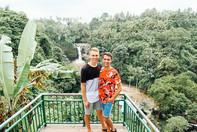 Will & James at Tegenungan Waterfall