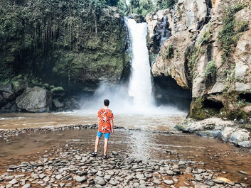 James at Tegenungan Waterfall