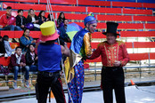 Will clowning around in Bogotá, Colombia
