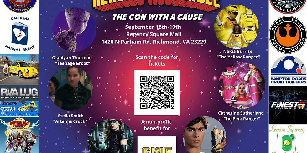 Heroes Assemble: The Con with a Cause