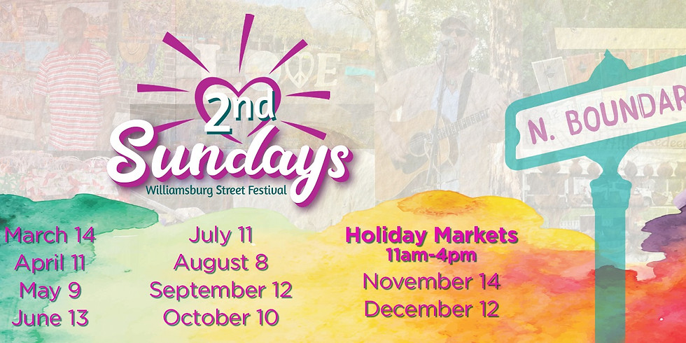 2nd Sunday Art and Music Festival