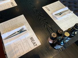 Restaurant table mats