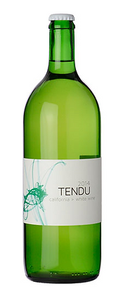 A bottle of Tendu - White from California