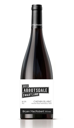 A bottle of Bryan MacRobert - Abbotsdale Chenin Blanc from South Africa