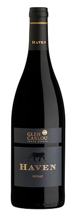 A bottle of Glen Carlou Haven Shiraz