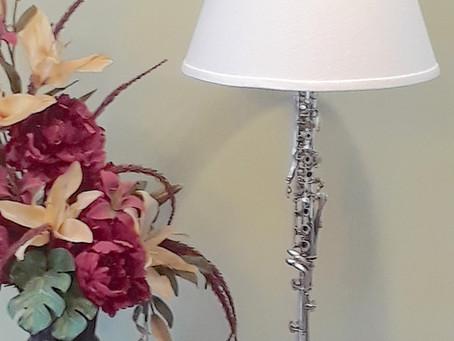 Clarinet Lamp #2