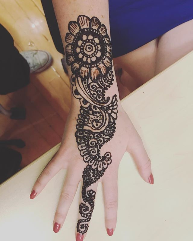 Large Henna Tattoo