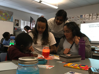 Science, Spills, and Snacks at Papago Elementary School