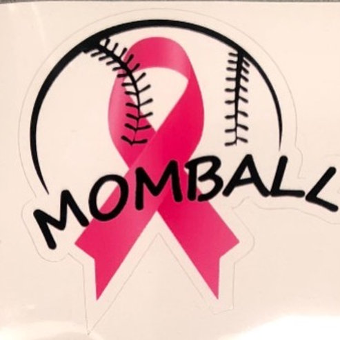MomBall Awareness sticker 2018