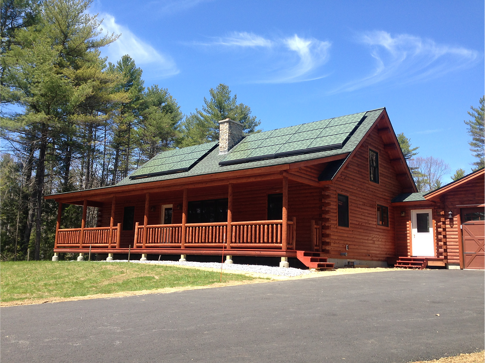 SolarSkin™ by Sistine Solar home in Massachusetts
