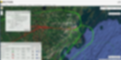 VNOMS flight tracking screen with activity search, track detail, and map overlay capabilities.
