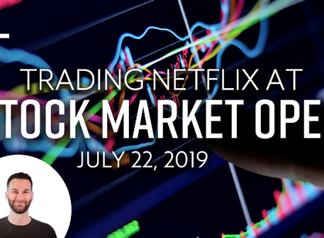 How to Day Trade NFLX for $150+ at Market Open