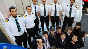 MECCTI inspires children to become future pilots