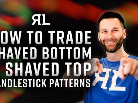 How to Trade Shaved Bottom & Shaved Top candles