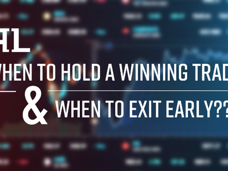 When to Exit a Day Trade Early and when to hold