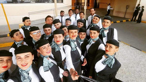 Romanian successful candidates join Flynas Airways crew