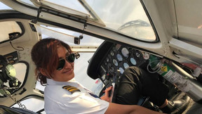 Nepal's first female helicopter captain describes life on top of the world