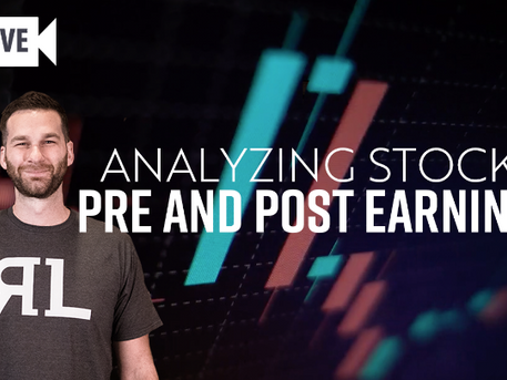 Analyzing Stocks Pre and Post Earnings