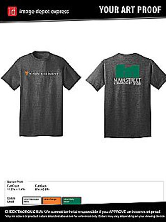 UHS Titan Regiment Band Shirt