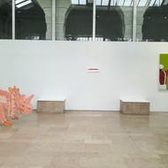 """Vue de l'exposition """"Les pieds sous serre"""", 2021, La Serre, Saint-Etienne"""