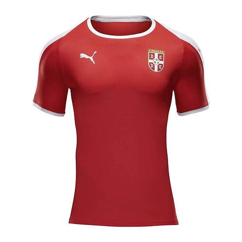 2018 Serbia Home Football Shirt
